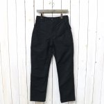 ENGINEERED GARMENTS『Fatigue Pant-Cotton Double Cloth』(Black)
