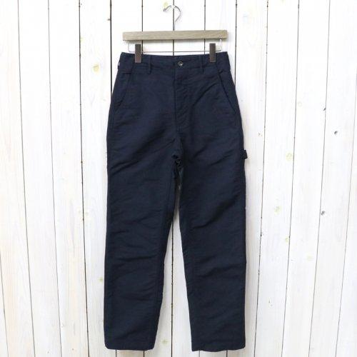 『Logger Pant-Cotton Double Cloth』(Dk.Navy)