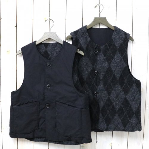 ENGINEERED GARMENTS『Over Vest-Argyle Nyco Ripstop』