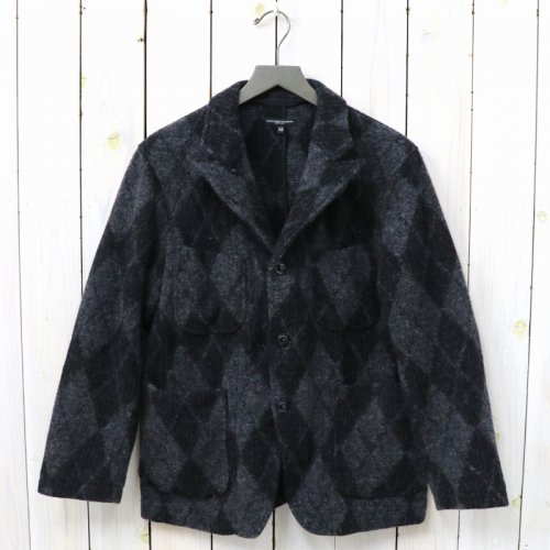『Bedford Jacket-Argyle Wool Dobby』