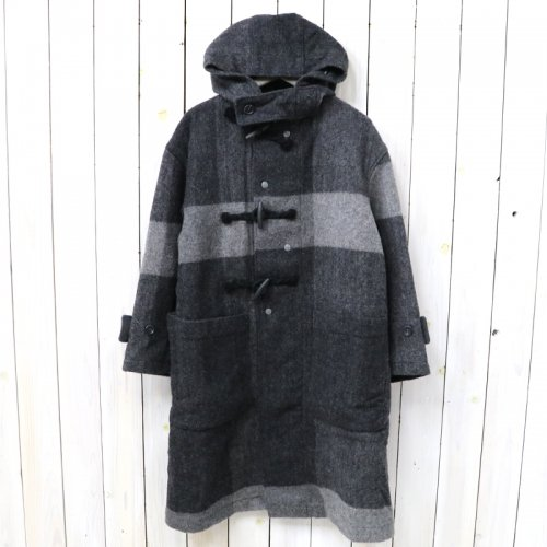 『Duffle Coat-Hv.Weight Big Plaid H.B』
