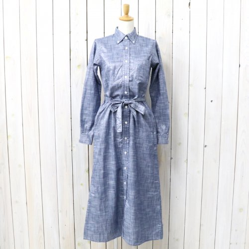 『BD Long Dress-Lurex Chambray』