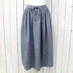 orSlow『LONG LENGTH GATHER SKIRT』(GRAY)
