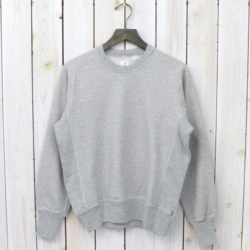 『Sweat Shirts Crew Neck』(Grey)