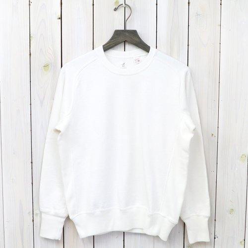 『Sweat Shirts Crew Neck』(White)