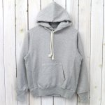 ANATOMICA『Sweat Shirts P/O Hood』(Grey)