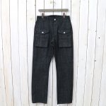SASSAFRAS『GARDEN GUIDE PANTS(10oz DENIM)』(BLACK)