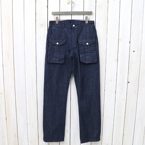 『GARDEN GUIDE PANTS(10oz DENIM)』(INDIGO)