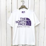 THE NORTH FACE PURPLE LABEL『H/S Logo Pocket Tee』(White)
