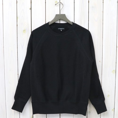 『Crew Neck Sweat-20oz Fleece』(Black)