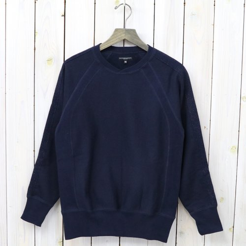 ENGINEERED GARMENTS『Crew Neck Sweat-20oz Fleece』(Navy)