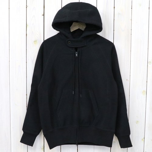 ENGINEERED GARMENTS『Raglan Zip Hoody-20oz Fleece』(Black)