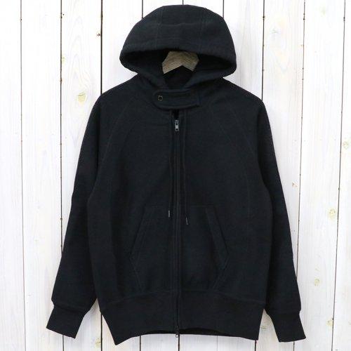 『Raglan Zip Hoody-20oz Fleece』(Black)