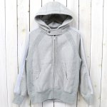 ENGINEERED GARMENTS『Raglan Zip Hoody-20oz Fleece』(Grey)