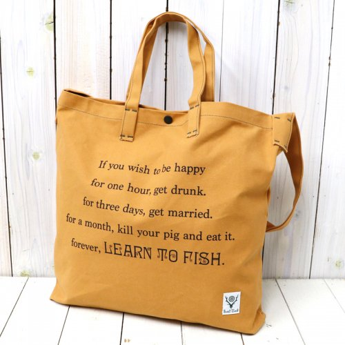 『Grocery Bag-Leam to Fish/Fishing Life』(Suntan)