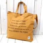 SOUTH2 WEST8『Grocery Bag-Leam to Fish/Fishing Life』(Suntan)