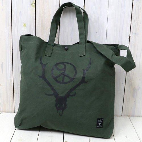 SOUTH2 WEST8『Grocery Bag-9 Piece & Deer Skull』(Olive)