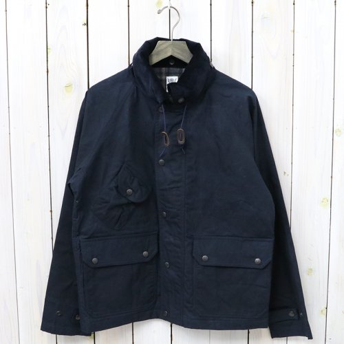 『Carmel Jacket-Paraffin Coating』(Navy)