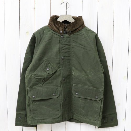 『Carmel Jacket-Paraffin Coating』(Olive)></a><a name=
