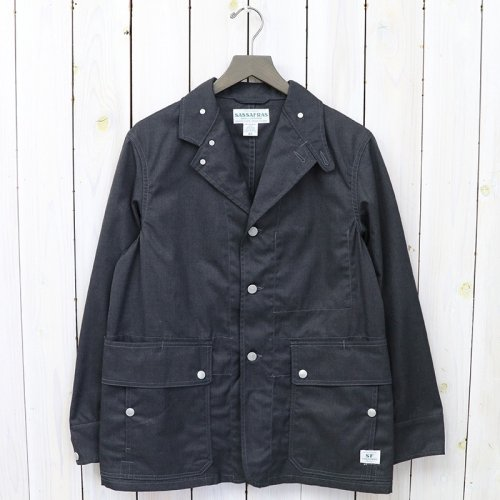 『FALL LEAF JACKET(T/C GABARDINE)』(CHARCOAL)