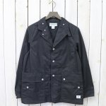 SASSAFRAS『FALL LEAF JACKET(T/C GABARDINE)』(CHARCOAL)