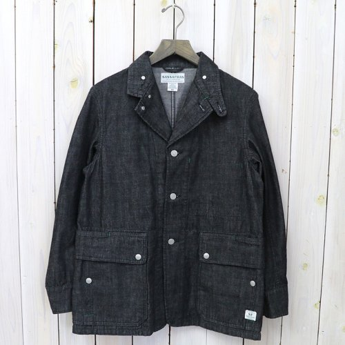 『FALL LEAF JACKET(10oz DENIM)』(BLACK)