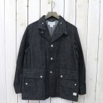 SASSAFRAS『FALL LEAF JACKET(10oz DENIM)』(BLACK)