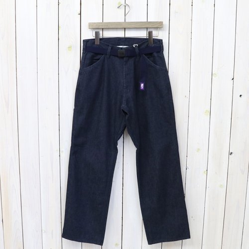 THE NORTH FACE PURPLE LABEL『Mountain Denim Field Work Pants』(Indigo)