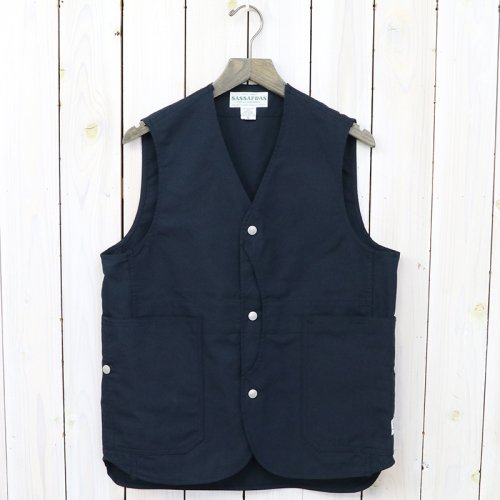 『FALL LEAF GARDENER VEST(NYLON OXFORD)』(NAVY)