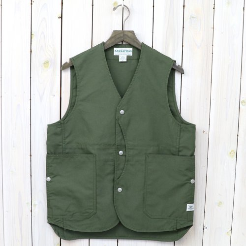 『FALL LEAF GARDENER VEST(NYLON OXFORD)』(OLIVE)