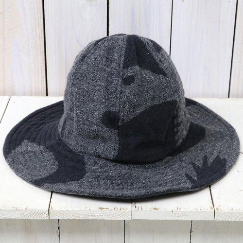 『Mountain Hat-Animal Wool Jacquard』