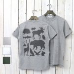 ENGINEERED GARMENTS『Printed Cross Crew Neck T-shirt-Animals』