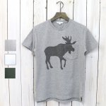 【会員様限定SALE】ENGINEERED GARMENTS『Printed Cross Crew Neck T-shirt-Elk』
