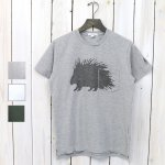 【会員様限定SALE】ENGINEERED GARMENTS『Printed Cross Crew Neck T-shirt-Porcupine』