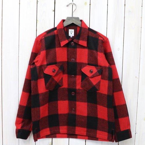 『Smoky Shirt-Buffalo Plaid』(Red)