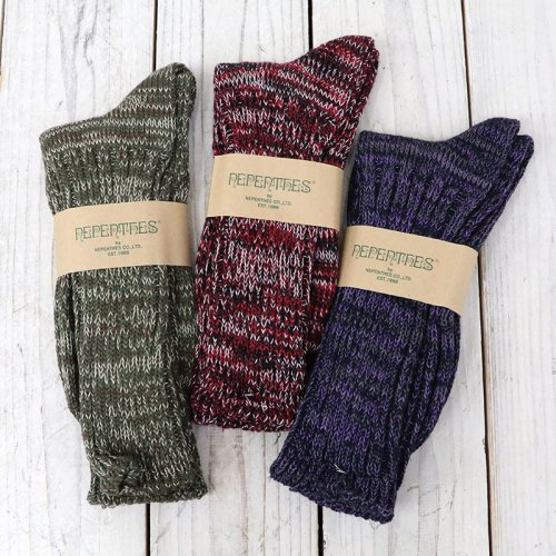 NEPENTHES Purple Label『Melange Quarter Socks』