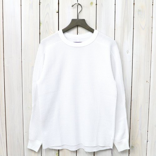 『Crew Neck Thermal Shirt』(White)