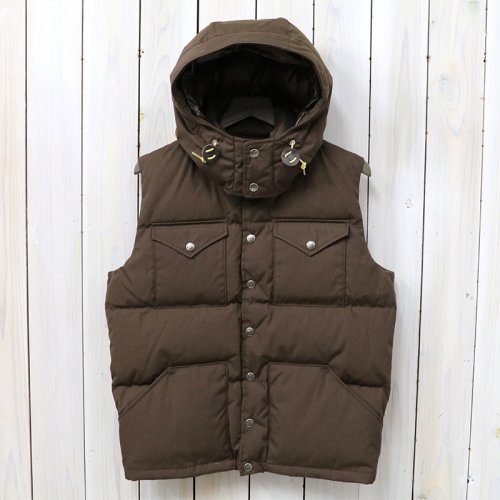 THE NORTH FACE PURPLE LABEL『65/35 Hooded Sierra Vest』(Brown)