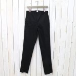 ANATOMICA『TRIM FIT I SATEEN』(BLACK)