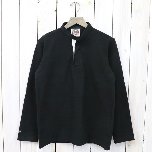 『HENLY NECK LONG SLEEVE』(SOLID BLACK)
