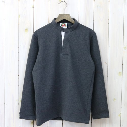『HENLY NECK LONG SLEEVE』(SOLID COAL)