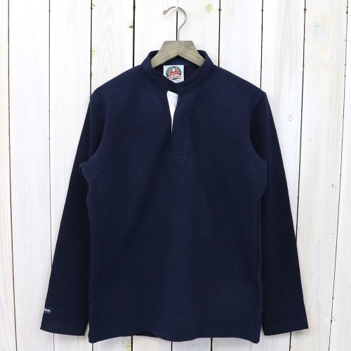 『HENLY NECK LONG SLEEVE』(SOLID NAVY)