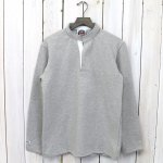 BARBARIAN『HENLY NECK LONG SLEEVE』(SOLID ASH)