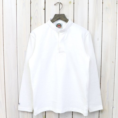 『HENLY NECK LONG SLEEVE』(SOLID WHITE)