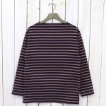 SAINT JAMES『OUESSANT』(NAVY/MARRON)