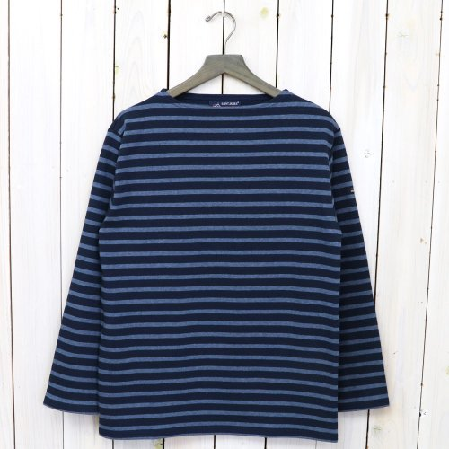 SAINT JAMES『OUESSANT』(MARINE/JEANS)