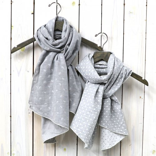 ENGINEERED GARMENTS『Long Scarf-H.Grey Double Gauze』