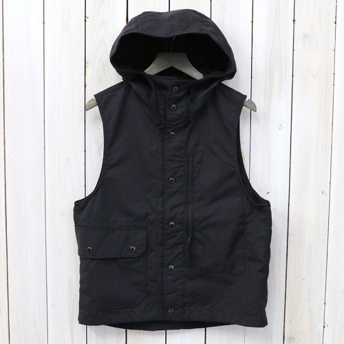 『Field Vest-Nyco Ripstop』(Black)