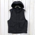 ENGINEERED GARMENTS『Field Vest-Nyco Ripstop』(Black)