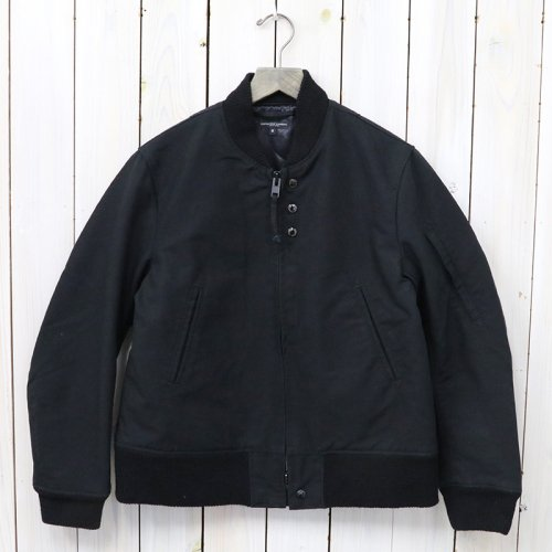 『Aviator Jacket-Cotton Double Cloth』(Black)